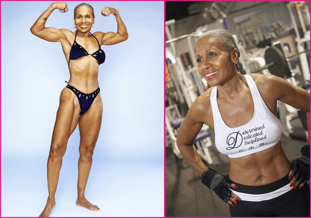 80 year old woman bodybuilder spirit