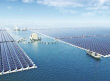 china floating solar power plant