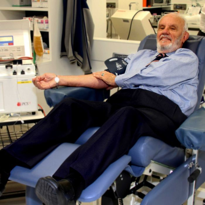 man extremely rare blood saved millions babies